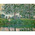"Репродукция картины Клода Моне ""Fishing on the River Epte"" 1887 (CMN-4145)"