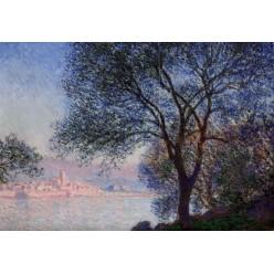 "Репродукция картины Клода Моне ""Antibes Seen from the Salis Gardens 02"" 1888 (CMN-4150)"