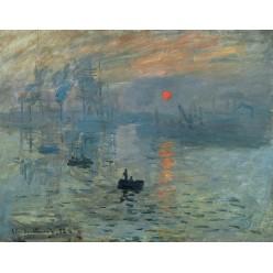 """Репродукция картины Клода Моне """"Impression, Sunrise"""", 1873 2 (CMN-4157)"""