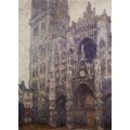 "Репродукция картины Клода Моне ""Rouen Cathedral, The Portal and the Tour d'Albene, Grey Weather"" 1894 год (CMN-4163)"