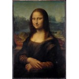 "Репродукция картины Леонардо да Винчи ""Мона Лиза (Джоконда)"" (LDV-6655)"