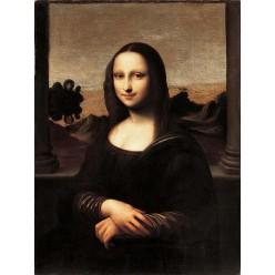 "Репродукция картины Леонардо да Винчи ""Айзелуортская Мона Лиза"" (LDV-6657)"
