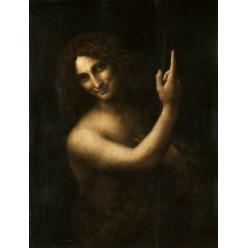 """Репродукция картины Леонардо да Винчи """"Иоанн Креститель"""" (LDV-6664)"""