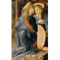 "Репродукция картины Леонардо да Винчи ""Крещение Христа"", фрагмент (LDV-6673)"