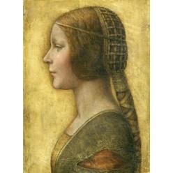 """Репродукция картины Леонардо да Винчи """"Прекрасная принцесса"""" (LDV-6670)"""