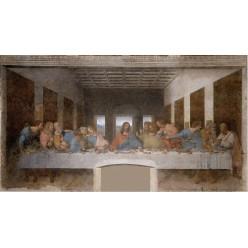 """Репродукция картины Леонардо да Винчи """"Тайная вечеря"""" (LDV-6656)"""