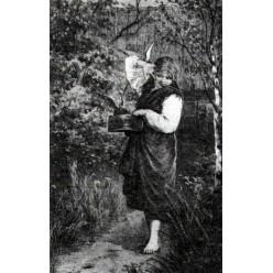 """Репродукция картины Исаака Левитана """"Любимцы"""". 1882 год (IIL-3315)"""