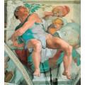 """Репродукция картины Микеланджело Буонарроти """"Иона"""" (MLB-8205)"""