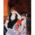 """Репродукция картины Пьера Огюста Ренуара """"На концерте (также известна как ложа в Opera)"""" - 1880 год (PAR-0703)"""