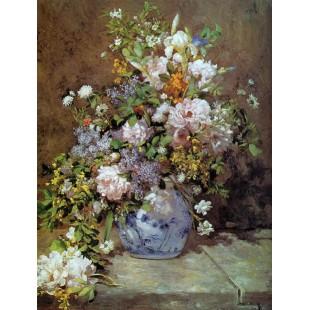 Букет весенних цветов ренуар — img 15