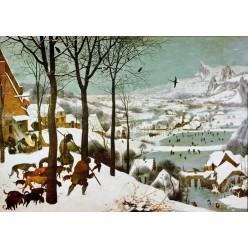 """Репродукция картины Питера Брейгеля (старшего) """"Охотники на снегу - январь"""" (PBG-0802)"""