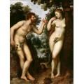 """Репродукция картины Рубенса """"Адам и Ева"""" (PPR-0306)"""