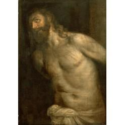 "Репродукция картины Тициана ""Бичевание Христа"" (этюд) (TCN-0517)"