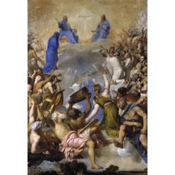 "Репродукция картины Тициана ""Святая Троица в славе"" (TCN-0519)"