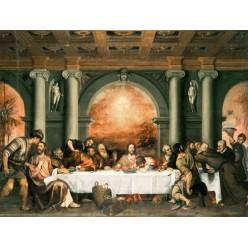 """Репродукция картины Тициана """"Тайная вечеря"""" (TCN-0504)"""
