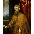 """Репродукция картины Тициана """"Венецианский дож Франческо Веньер"""" (TCN-0515)"""